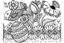 ✐Colouring for Kids~Big Kids too✐ / ...colouring pages...