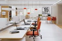 espacios de trabajo / #workspace #openspace #furniture #workplace