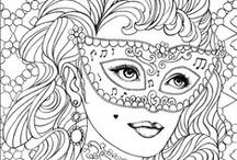 ✐Colouring for Adults / ...colouring pages for adults...