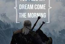 The Witcher / Miecz przeznaczenia ma dwa ostrza... jednym jesteś ty, drugim jest śmierć.