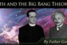 The Dance of Science and Faith / This is a series of graphics and articles on science and faith by Father Gordon J. MacRae at TheseStoneWalls.com
