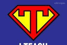 Nauczycielu! Tutaj! / Oto piny, które dodadzą Ci supermocy! Uwaga, mogą być inspirujące!