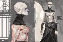 Concept art/ideas / Interesting Concept art, character designs and environment designs