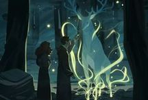 Harry Potter / Illustrations and all sorts of artwork from the Harry potter series
