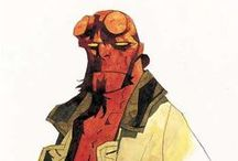 Hellboy / Covers and pages from the Hellboy Comics and Mike Mignola illustrations
