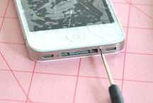 DIY Phone Repair / Learn how to do a DIY repair for minor repairs! Also learn how to diagnose your repair for more complicated repairs. Includes all phones, iPods, iPads and computer.