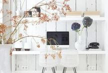 Workspaces / Beautiful and inspiring workplaces and desk areas! To bring creativity in to any work environment.