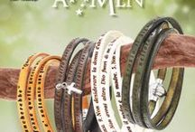 AMEN / Brand emergente nel campo del made in Italy, Amen, con i suoi bracciali e i suoi anelli è diventato un must have trai portafortuna. I bracciali Amen sono in pellami a concia vegetale con chiusura in acciaio calamitata.
