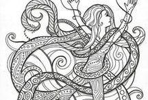 ✐Coloring Pages for Adults / ...coloring pages for adults...