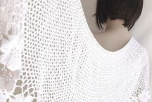 Knit and crochet shawls