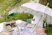 Picnics, tents, awnings, outdoor tea parties