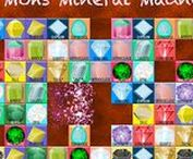Mohs Mineral Madness / Mohs Mineral Madness is a challenging tiled puzzle that will tease your brain with random tile arrangements and improve your problem solving skills. Exercise your mind using visual agility, memory, pattern recognition, visualization, and prediction! Available for the iPad. http://www.tasagraphicarts.com/mohsmineral.html