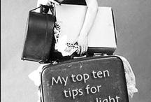 TRAVEL LIGHT& SMART / #Travel #Lightpacking #Holiday
