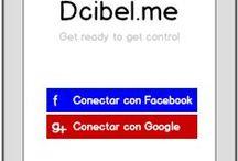 Dcibel.me Mockups
