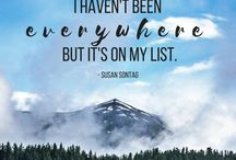 Travel Quotes / Favorite travel quotes! | The Tattooed Travelers | Travel | Travel Inspiration | Travel Tips | Bucket List | Things To Do | Travel Guide | Inspiration | Itineraries | Adventures |