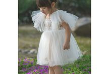 Petites Poupées White/Blanc / Shop our gorgeous White/Blanc collection to find the perfect outfit for your little doll's baptism/christening communion, or flower girl dress!