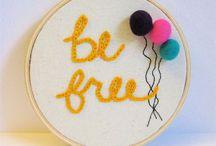 Knitting & sewing! / by stella hernandez