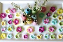 mijn haakwerkjes / Dubbellaags bloemen