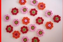 Mijn haakwerkjes / Enkele bloemetjes