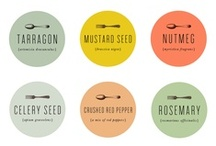 FREE Printable Spice Labels! / Get rid of all of those random jars and organize your spice cabinet to fit your kitchen's personality! Add a little extra character to your spice cabinet with these FREE printable spice labels. [HINT: Mason jars might become your new best friend]