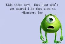 monsters inc / if it has to do with monsters inc its in here.  / by Alicha Tryon