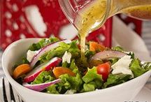 Healthy Salad Dressing Recipes / These easy salad dressing recipes are simple enough for anyone to make and tasty enough to replace any of the already bottled stuff! So, if you didn't think you could, or you've never known how to make salad dressing, think again! From super easy vinaigrette recipes to a great tangy buttermilk ranch recipe, you're sure to find a salad dressing you'll absolutely love!