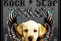 Rock Star Shop / Motley Zoo Merch! Proceeds are used to support our rescue animals!