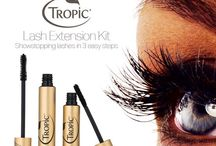 Tropic Make-up / Tropic's make-up range