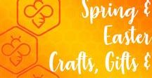Easter & Spring Themed Artworks & Gifts / Beautifully crafted and unique artworks, homewares, jewellery, cards and gifts available from our talented Etsy Manchester artists and makers. #eastergifts #springarts