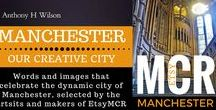 Manchester: Our City in Photos / Carefully selected beautiful and inspirational images and photographs of the City of Manchester, chosen by the talented members of Manchester's  EtsyMCR Team.