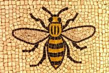 Manchester Bees & Artwork / A board full of Manchester Pride. Find Manchester themed items from some of the area's finest Etsy creatives.