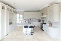 Traditional Kitchen Designs / Traditional Kitchens using quartz worktops in Bespoke Units.