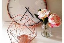 P I N K  &  C O P P E R / Interior Design / Home Decor / Accessories in Pink, Rose Gold & Copper
