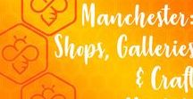 Craft & Handmade Markets / Manchester and the surrounding region is home to many great artisan fairs and markets, promoting UK Handmade and local artists and makers. Here are just some of the events recommended by the members of Manchester's Etsy Mcr team. #craftfairs #UKHandmade