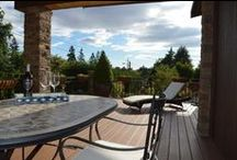 Decks, Balconies & Patios / Personalized outdoor spaces to love and linger. If you are in the GreaterSeattle area and looking for a contractor to assist with a new/ replacement deck or balcony, contact Flying Dormer. www.flyingdormer.com