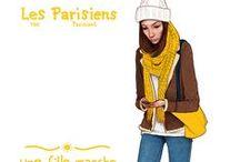 Les Parisiens - The Parisians - Jason Raish Illustration Series / Les Parisiens (the Parisians) A personal project illustrating select people that I see around Paris.