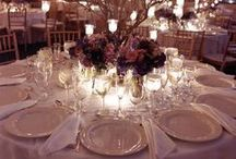 Table settings & centerpieces