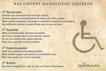 Online Accessibility / Articles and other news items about how accessibility on the web