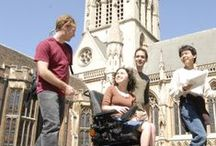 Conditions and Disabilities we support / We work with Univerisity of Cambridge students with a wide range of additional needs.