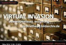 #datainv - Invasioni Digitali / Der #imt14 invadierte in Kooperation mit der Europeana.eu, prometheus - das verteilte digitale Bildarchiv für Forschung und Lehre und ARTigo - Das Online-Kunstgeschichtsspiel die digitale Kulturlandschaft der Datenbanken, Freitag, 2. Mai 2014, 11-12 Uhr