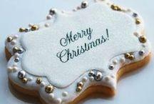 karácsonyi süti dekorációk