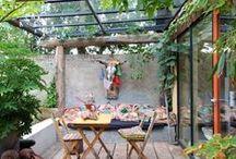 ❤️AMÉNAGEMENTS EXTÉRIEURS❤️ JARDINS TERRASSES  IDÉES DÉCORATION / Plein de belles idées pour tout ce qui est à l'extérieur de sa maison