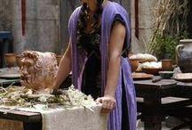 Kostüme - Römische & griechische Antike - Larp / Antike Mode aus der klassischen Antike kann unglaublich elegant wirken und ist zugleich super einfach umzusetzen.  Hier findet ihr meine eigenen Designs ebenso wie meine Inspirationsquellen!