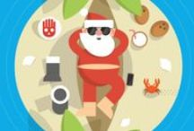 Google Santa Tracker Illustrations / Illustrations of Google Santa Tracker