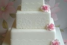 Wedding cakes and cookies