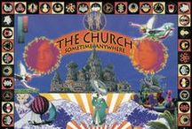 The Church Vinyl & Video / The Church colored vinyl.