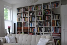 Libraries, bookshelves, bookspaces