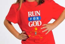Products -- RunforGod.com / Here you can see a sample of some of the items we have for sale to help you display that you Run for God!  Wear them to train, in races, to the grocery store, and anywhere that you want the world to know that you Run for God!  To see the entire collection, please visit us at www.RunforGod.com