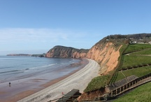 In and around Sidmouth, Lyme bay and The Jurassic Coast