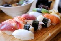 Sushi / Fabulous sushi inspiration/helppoja ja herkullisia sushi-ideoita